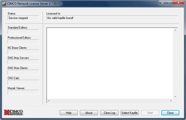CIMCO Network License Server V.7