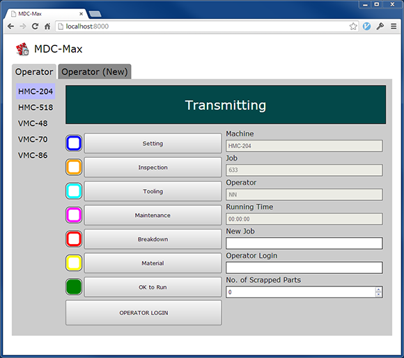 MDC Max 7 Web Client - PC Browser