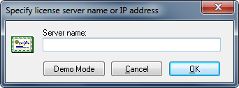 Specify CIMCO License Server