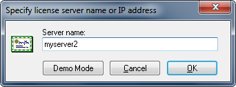 Specify CIMCO License Server by Name