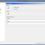 Creating a CIMCO MDM (PDM) Backup
