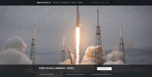 SpaceX Huge Multimedia Images Tell a Story