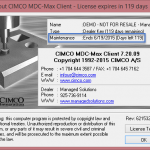 Upgrading CIMCO MDC and DNC-Max