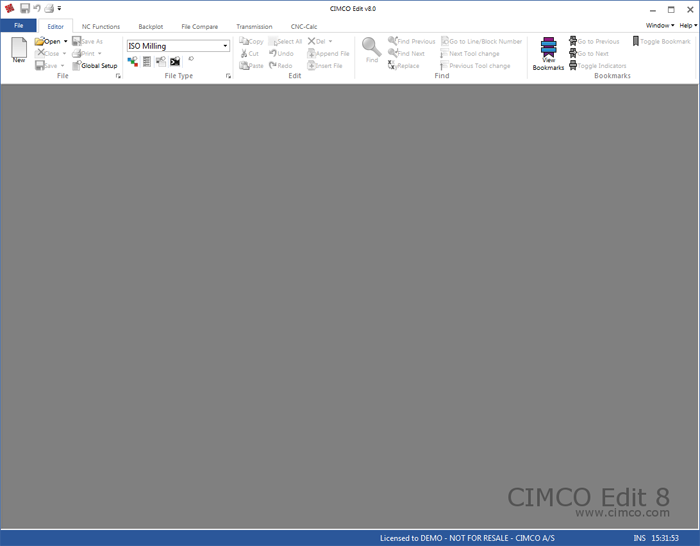 Microsoft Office Style Ribbon Interface