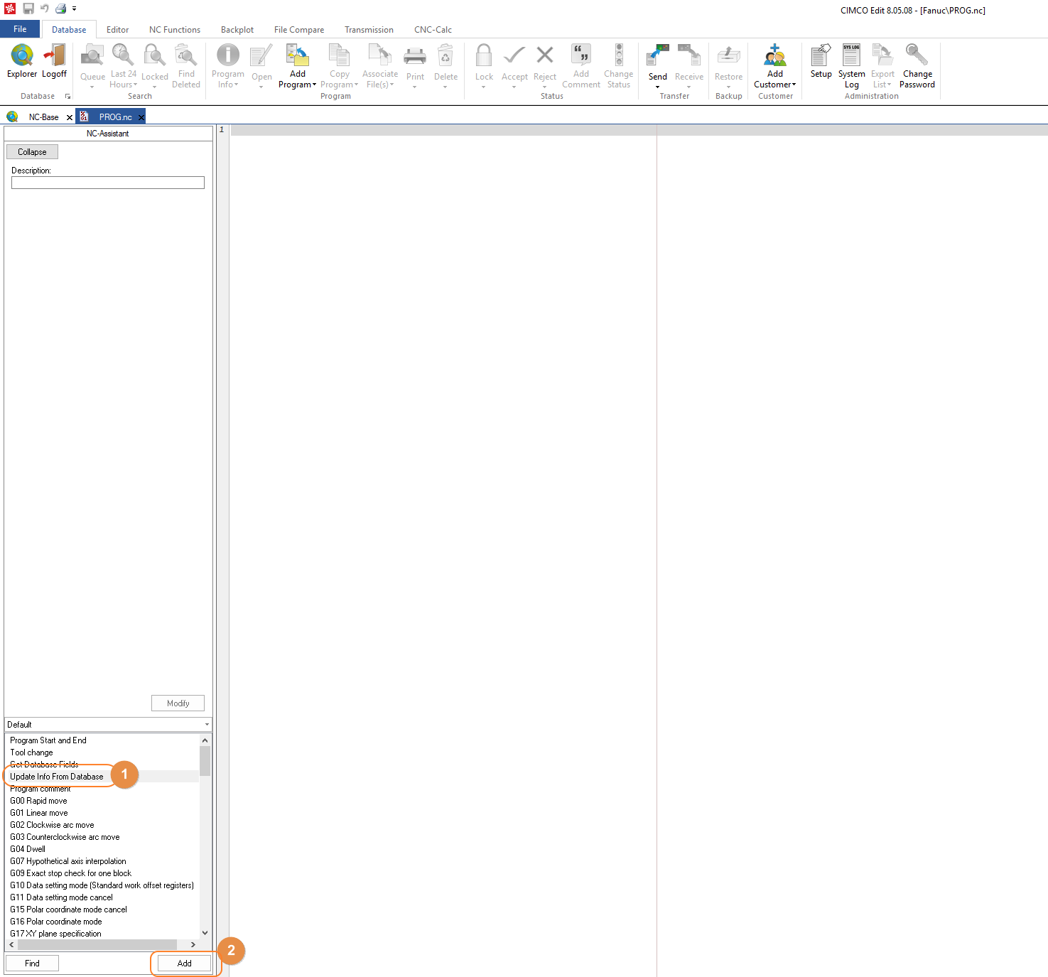 Save time with CIMCO Editor Macros Part 2 – NC File Standardization