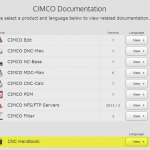 CIMCO Documents
