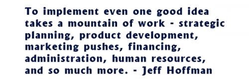 Jeff Hoffman Quote