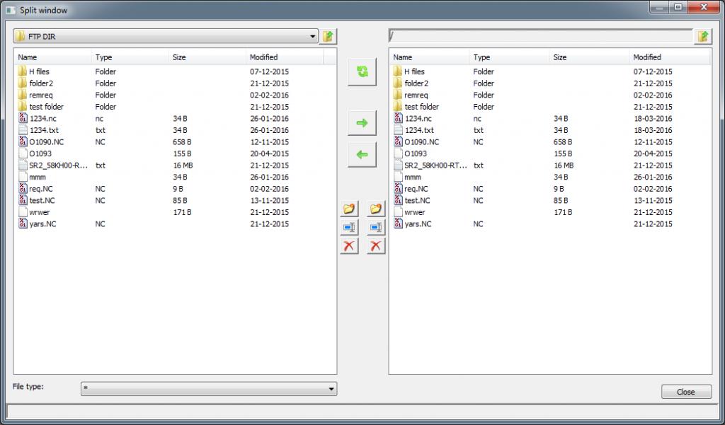 CIMCO Edit 8 FTP Client