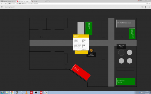 Accessing MDC-Max Shop Floor Screen real time data